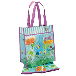 Floral Watercolor Tote Set