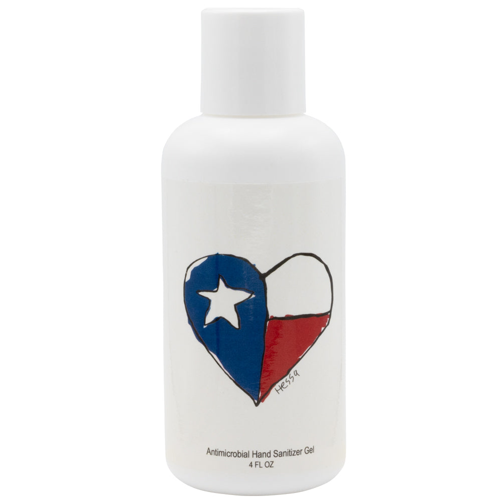 Texas Heart Hand Sanitizer - 4 ounce