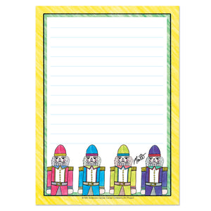 Major Nutcracker Notepad