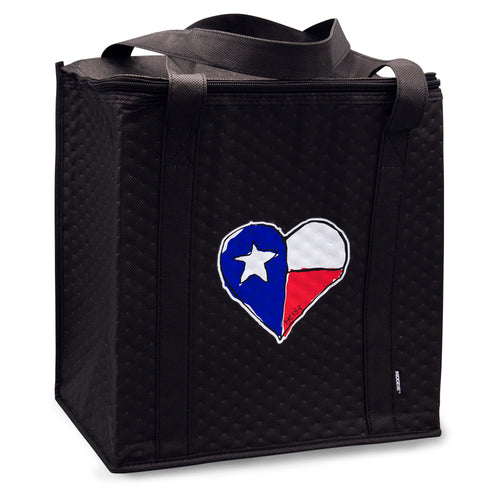Texas Heart Thermal Cooler Bag