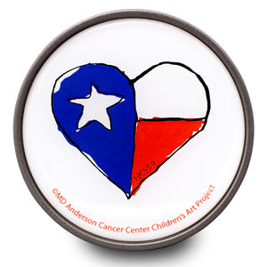 Texas Heart Bottle Opener