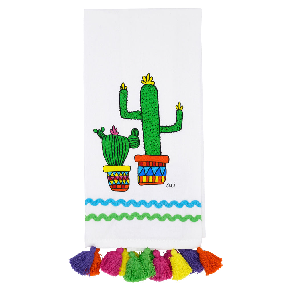 Cacti Kitchen Towel