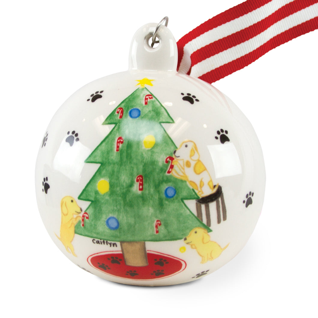 Pup Tree Ornament