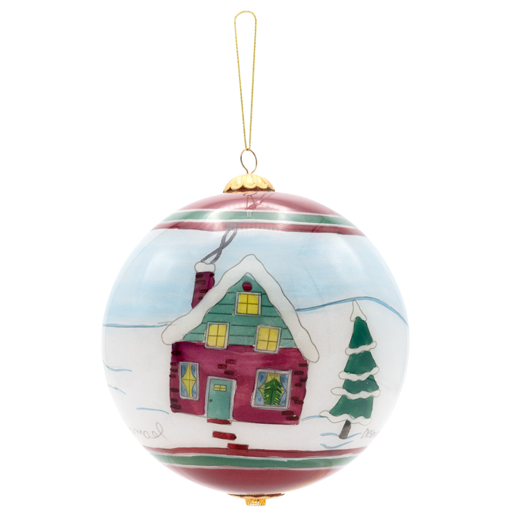 Christmas Collage Ornament