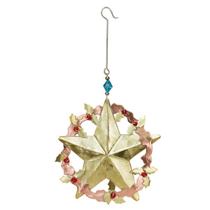 TEXAS STAR ORNAMENT