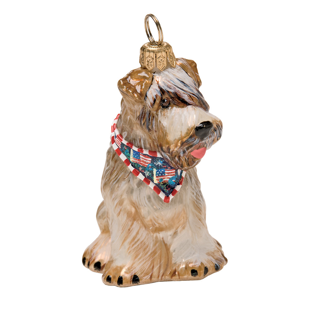 TRUE FRIEND DOG ORNAMENT RET