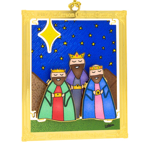 Three Kings 3D Ornament