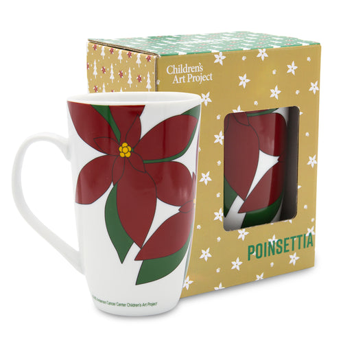 Poinsettia 20 Oz Mug