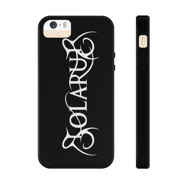 Solarus Logo iPhone Case (Large Vertical Logo) - Solarus Metal