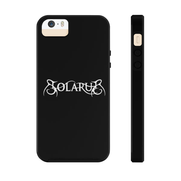 Solarus Logo iPhone Case (Horizontal Logo) - Solarus Metal