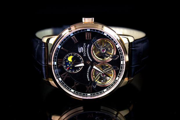 Imperial Black-Rose Automatic Watch