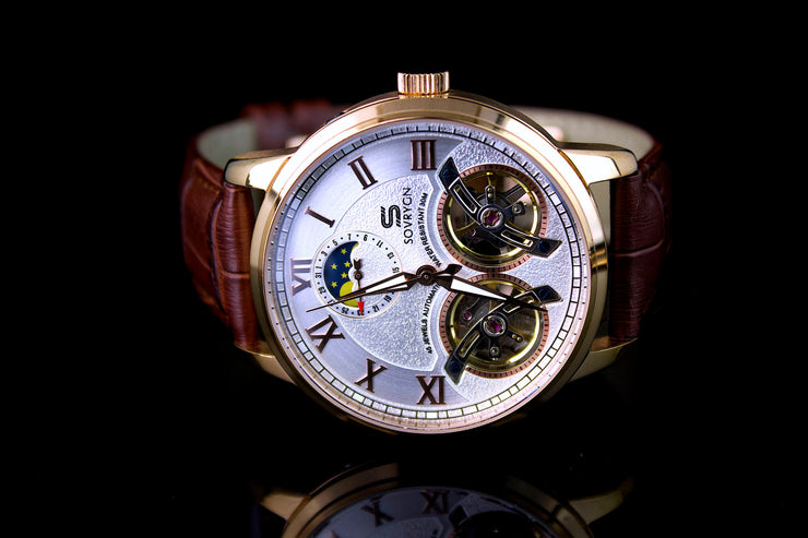 Imperial Brown-Rose Automatic Watch