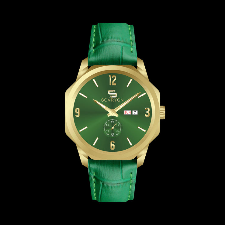 Successor Green-Gold Quartz