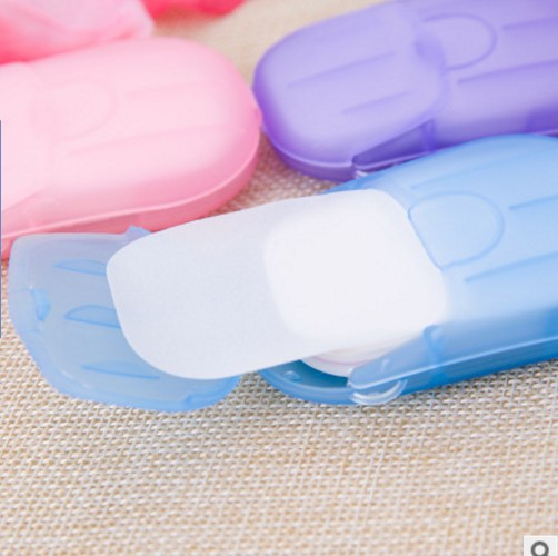 Travel Light™ Anti-Bacterial Soap Sheets