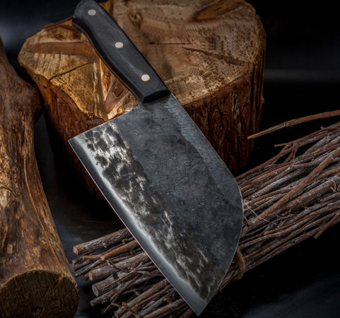 Easy Kitchen™ - Authentic Hand Forged Japanese Chef Knife Made With Serbian Sarschach Steel