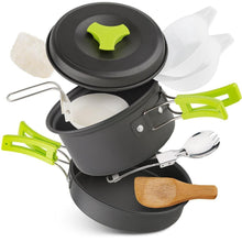 Lightweight 10 Piece Outdoor Cooking Kit