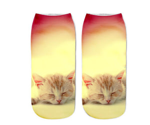Cute Cat Socks (Multiple Designs)