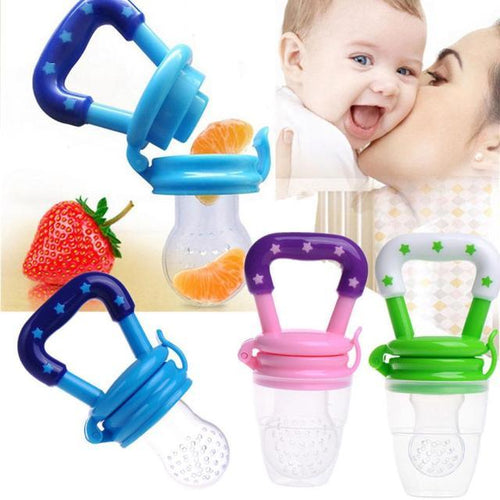 The Nutri-Baby™ BPA-Free Baby Fruit Nibbler