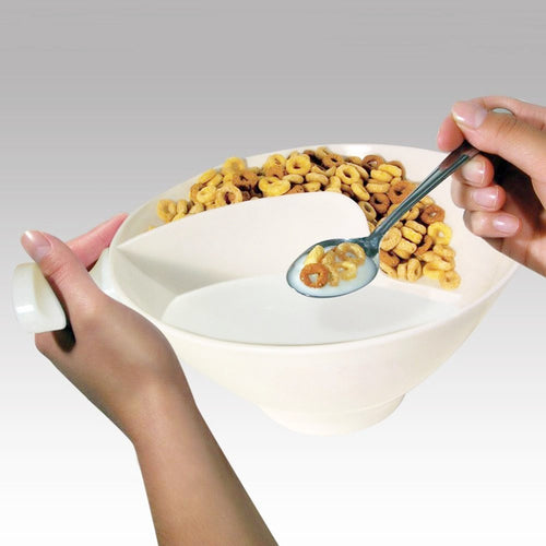 Spiral Cereal Snack Bowl