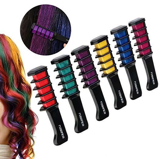 Professional Temporary Hair Dye Comb™ (6 Color Set OR Individually ...