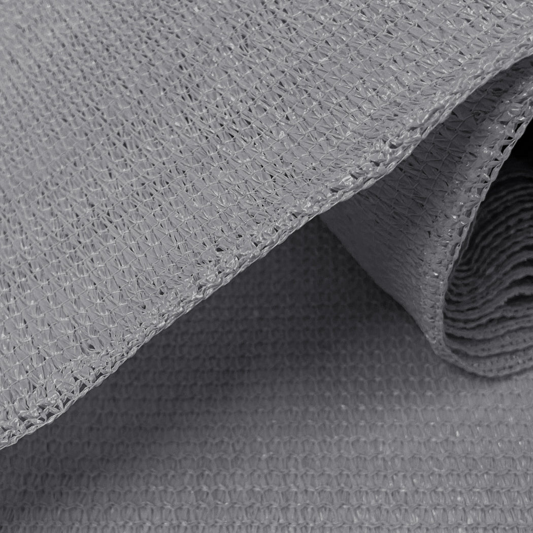 Alion Home Custom UV Sun Block Shade Cloth - Grey (RAW MATERIAL)