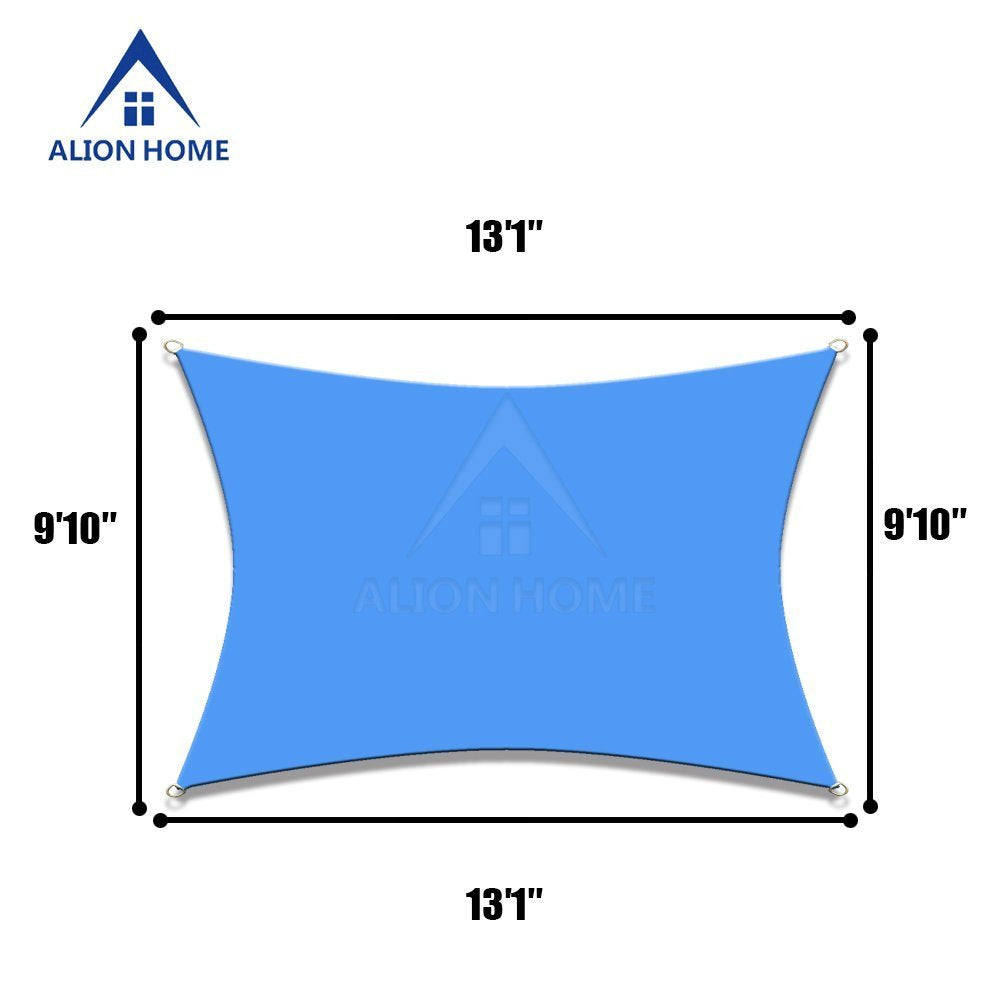 Alion Home Waterproof Woven Sun Shade Sail - Royal Blue