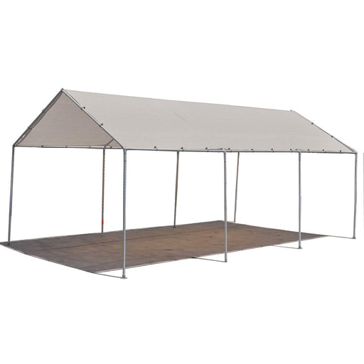 Carport Replacement Permeable Sun Shade Cover (Frame Not Included) - Smoke Grey *LISTED SIZES ARE NOT CARPORT SIZE*