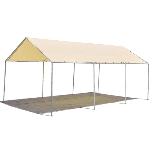 Carport Replacement Permeable Sun Shade Cover (Frame Not Included) - Beige *LISTED SIZES ARE NOT CARPORT SIZE*