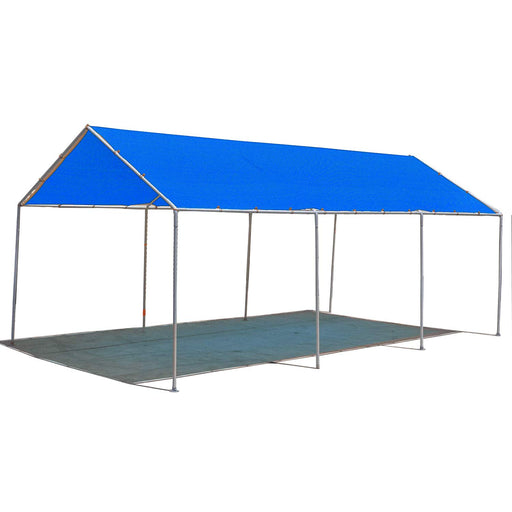 Carport Replacement Permeable Sun Shade Cover (Frame Not Included) - Blue *LISTED SIZES ARE NOT CARPORT SIZE*