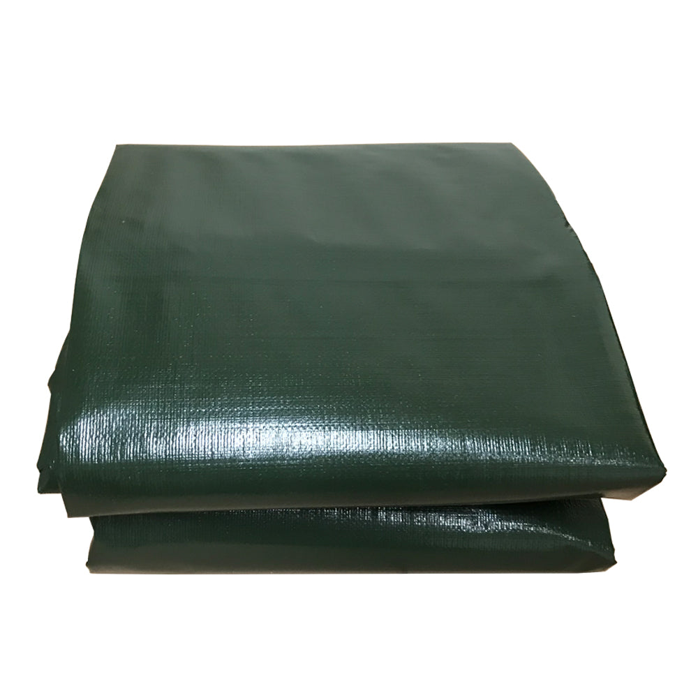 Custom Sizes Heavy Duty Tarp - Dark Green