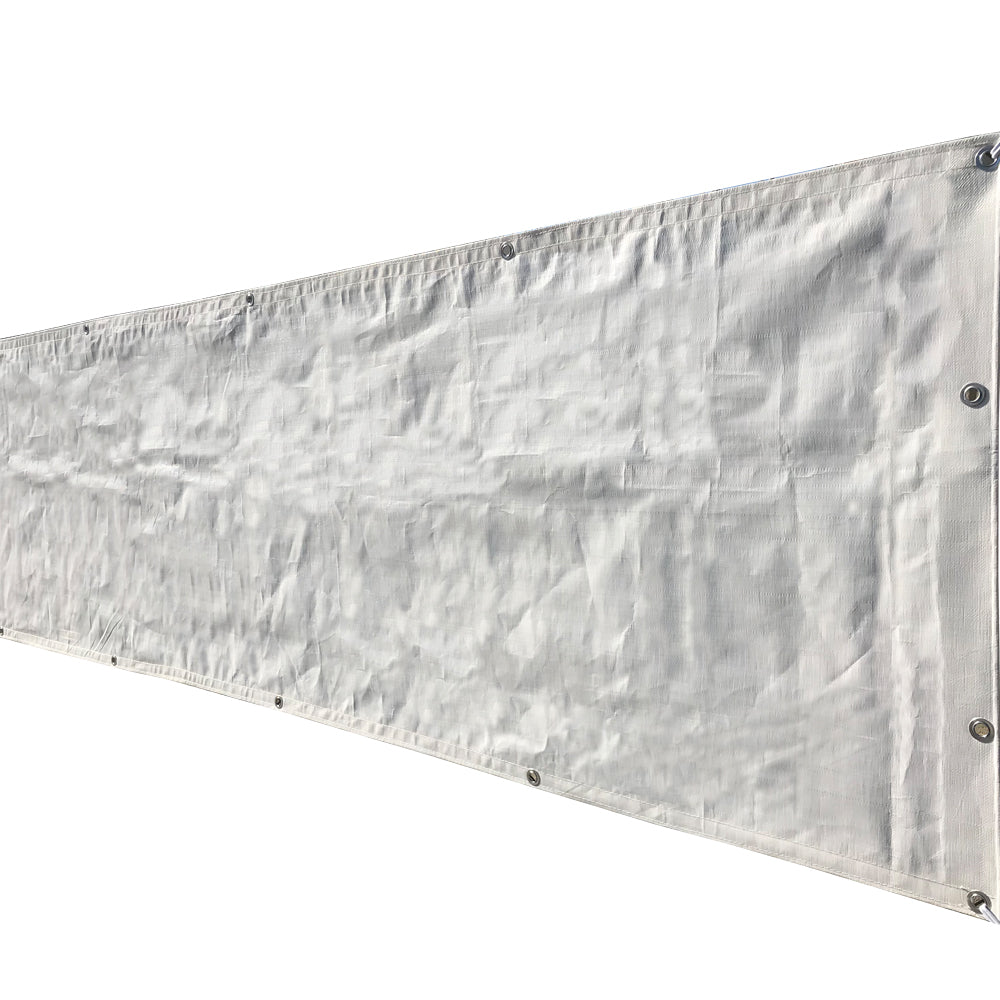 Custom Sizes Heavy Duty Tarp - White