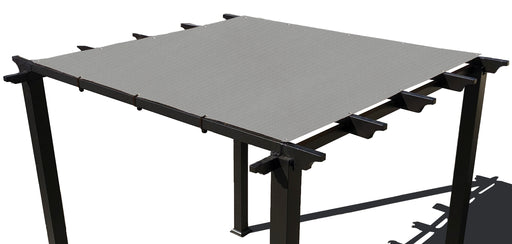 HDPE Pergola / Patio Cover Panel w/ 4 side hems and grommets - Grey