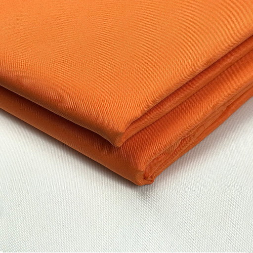 Alion Home 80'' Wide PU Waterproof Polyester Fabric - Sold by Yard - (Tangerine Orange)