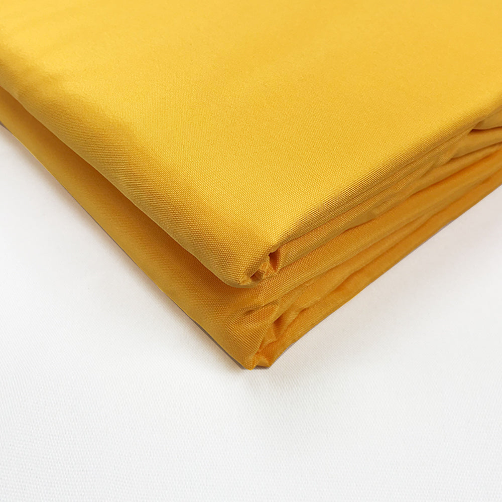 Alion Home 80'' Wide PU Waterproof Polyester Fabric - Sold by Yard - (Mango Yellow)