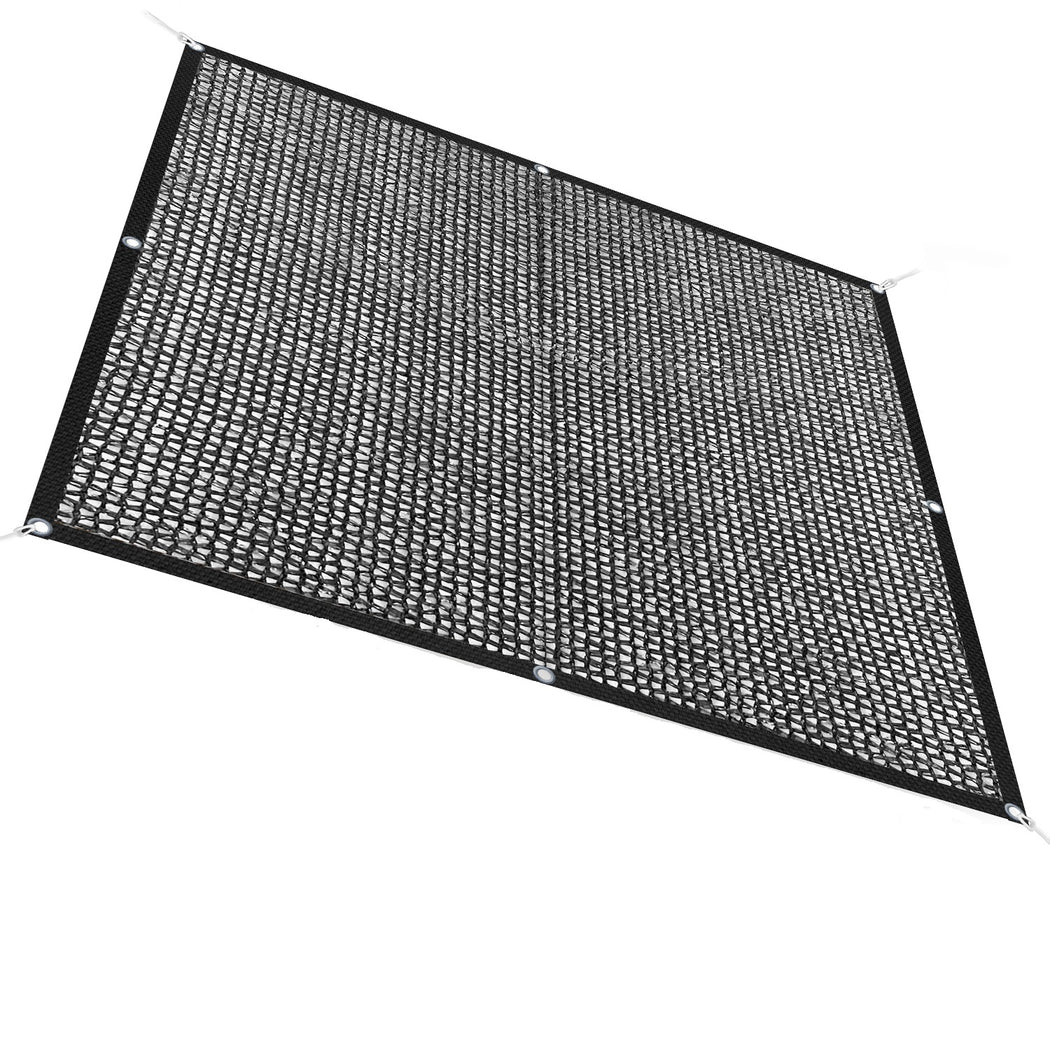Custom Size 40% Sun Block Garden Netting Mesh - Black