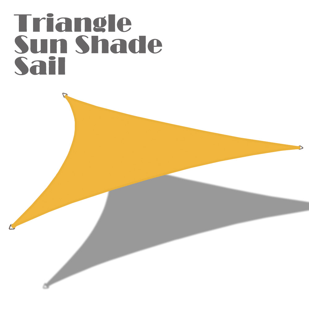 14ft x 14ft x 19.8ft Right Triangle PU Waterproof Woven Sun Shade Sail