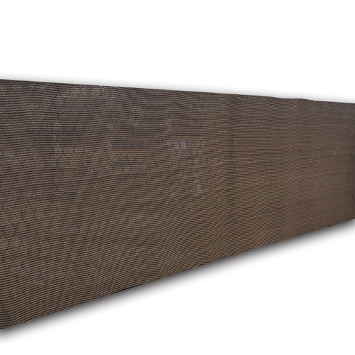 Custom Sizes Elegant Privacy Screen & Shade Panel with Hems (No Grommets) - Mocha Brown