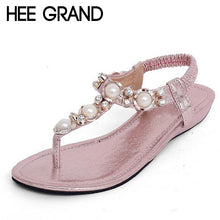 Summer Sandals Women Fashion Beading Platform Low Heels Wedges Shoes Woman 4 Colors!!