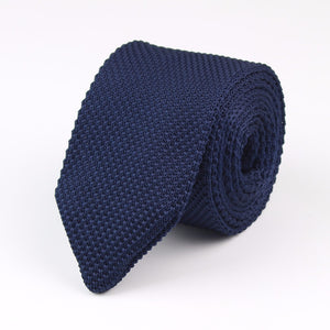 Knitted Neckties In Assorted Colors