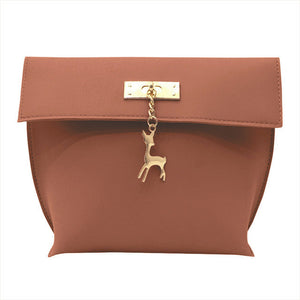 Xiniu mini bag with deer to bags leather shoulder bags