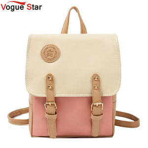 Vogue Star Leather Backpack