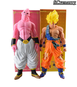 46cm Dragon Ball Z Super Saiyan Son Gokou Majin Boo PVC Action Figure