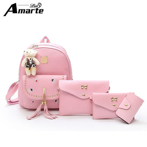 Amarte Shoulder Bag PU Leather Backpacks