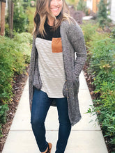 BUTTON DOWN POCKETED CARDIGAN