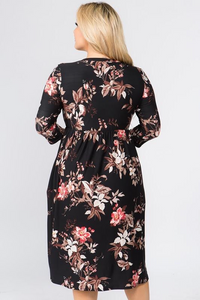 BECCA BEAUTY FLORAL DRESS