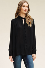 ELLA SHEER BUTTOWN DOWN TOP