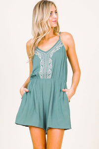 FRANCHESCA POCKETED ROMPER