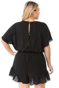 CHIC AND CHEEKY ROMPER