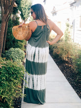 LOVE AT FIRST SIGHT TIE DYE MAXI DRESS