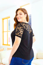 DELICATE BALANCE LACE TOP
